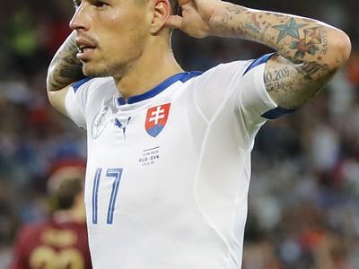 Hamšík oslavuje slovenský druhý