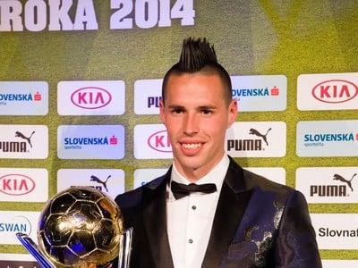 Víťaz ankety Futbalista roka