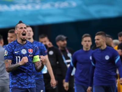 Marek Hamšík sa raduje