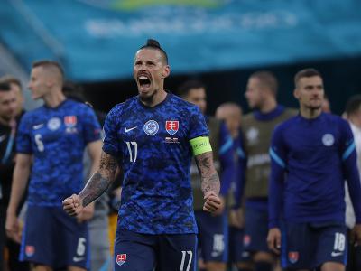 Marek Hamšík oslavuje výhru