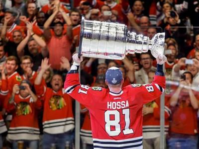 Marián Hossa so Stanley Cupom