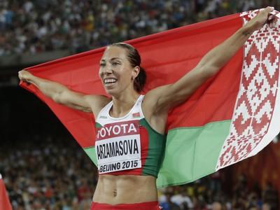 Bieloruská bežkyňa Marina Arzamasovová