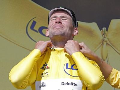 Mark Cavendish v žltom