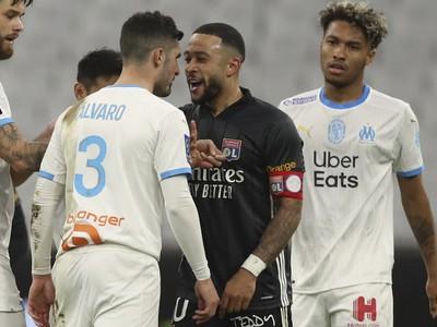 Momentka zo zápasu Lyon