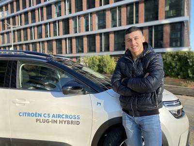 Martin Feherváry otestoval Citroën