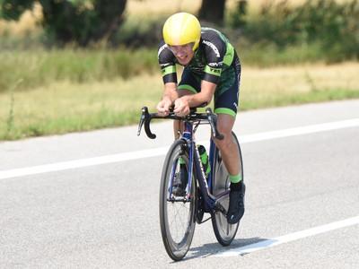 Slovenský cyklista Martin Haring
