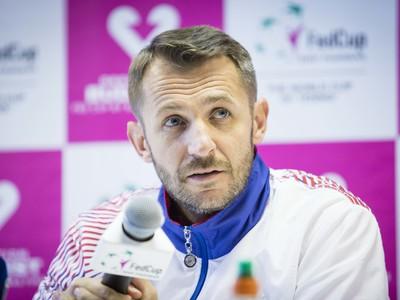 Kapitán fedcupového družstva Matej Lipták