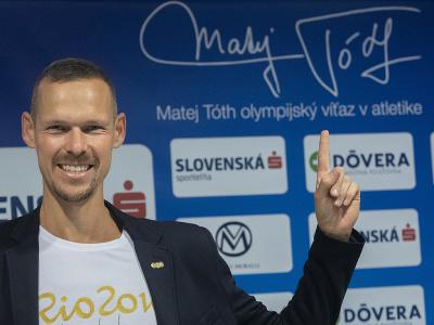 Olympijský víťaz a majster sveta v chôdzi na 50 km Matej Tóth