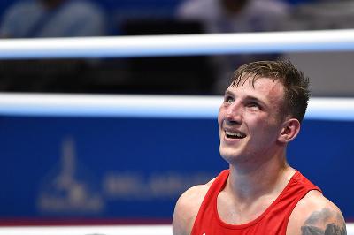 Slovenský boxer Matúš Strnisko