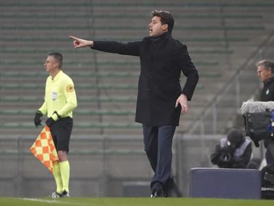 Mauricio Pochettino na lavičke PSG