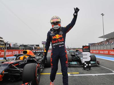 Max Verstappen sa teší