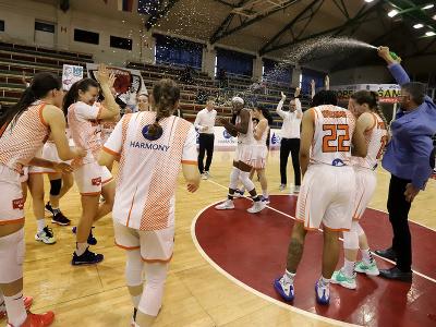 Basketbalistky MBK Ružomberok obhájili titul majsteriek Slovenska v Niké extralige žien