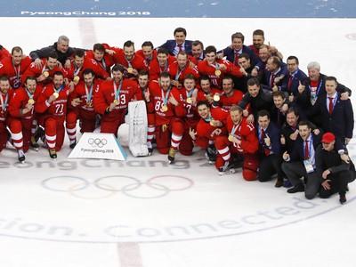 Olympijskí športovci z Ruska