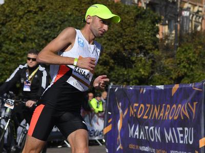 Slovenský bežec Tibor Sahajda na MMM v Košiciach