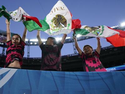 Fanúšikovia Mexika