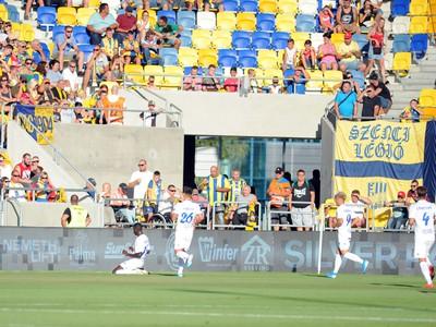 Atmosféra počas zápasu