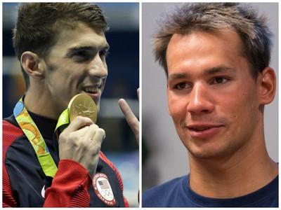 Michael Phelps a Richard