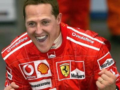 Takéto obrázky radosti živého a zdravého Michaela Schumachera sú pravdepodobne budúcnosťou.