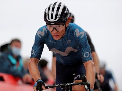 Kolumbijský cyklista Miguel Ángel