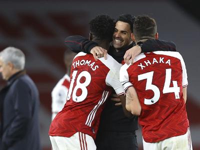 Mikel Arteta sa raduje po víťazstve Arsenalu