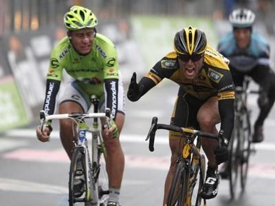 Peter Sagan a víťaz