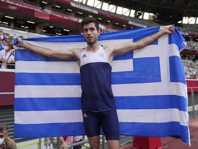 Grécky atlét Miltiades Tentoglu