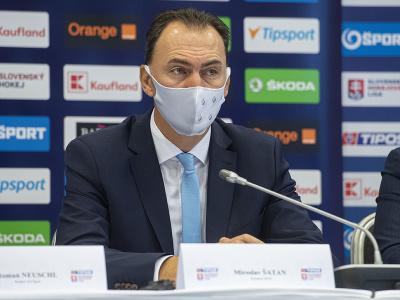 Na snímke prezident SZĽH Miroslav Šatan