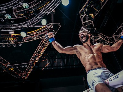Ivan Buchinger sa stal novým šampiónom Oktagonu