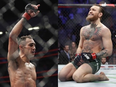 Tony Ferguson a Conor