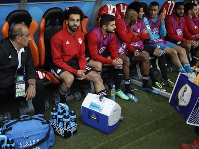 Egyptský futbalista Mohamed Salah