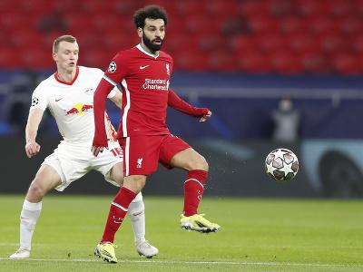 Mohamed Salah (vpravo) z