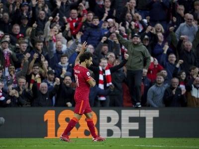 Mohamed Salah ďakuje fanúšikom