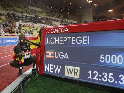 Cheptegei vylepšil svetový rekord
