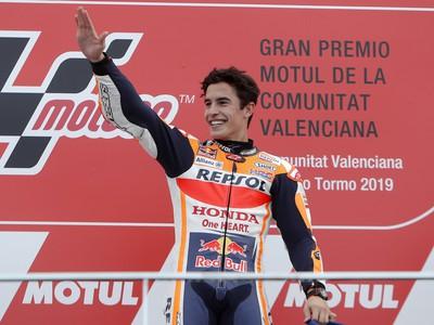 Španielsky motocyklový jazdec Marc