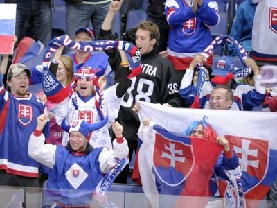 Fanúšikovia Slovenska v Helsinkách