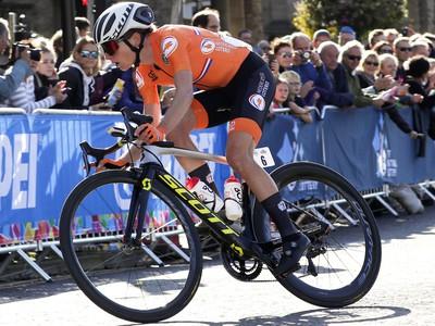 Holandská cyklistka Annemiek van