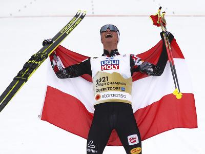 Johannes Lamparter sa raduje zo zlata