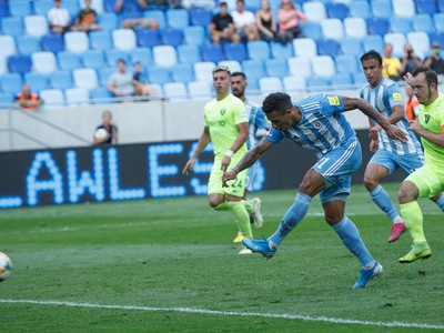 Rafael Tatao strieľa gól z penalty
