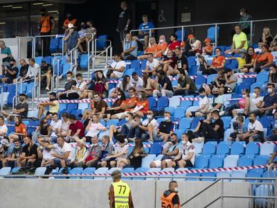 Fanúšikovia na finálovom súboji v Bratislave