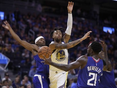 D'Angelo Russell proti presile Clippers