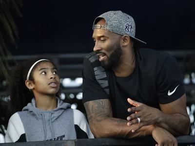 Kobe Bryant s dcérkou