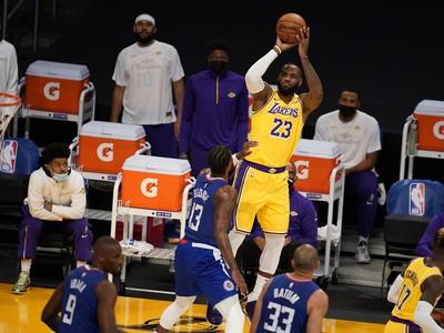LeBron James v akcii