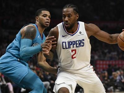 Kawhi Leonard (Clippers) v akcii