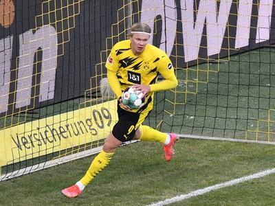 Erling Haaland a jeho gólové oslavy