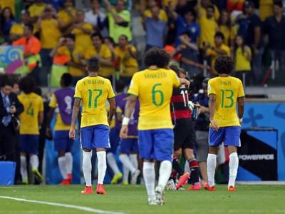 Smutní Brazílčania po historickej prehre