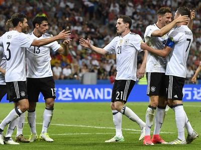 Hráči Nemecka a ich