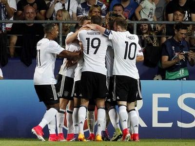 Radosť Nemcov po góle