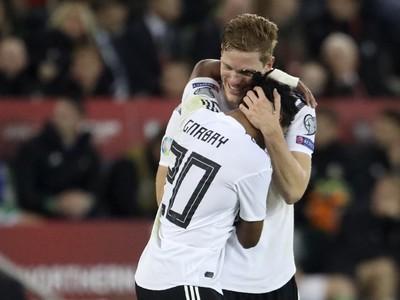 Radosť hráčov Nemecka