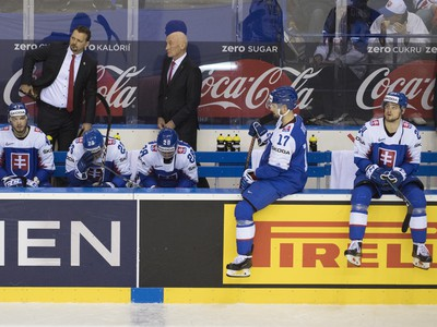 Smutná striedačka slovenských hokejistov