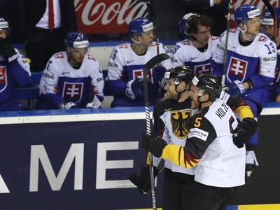 Gólová radosť nemeckých hokejistov